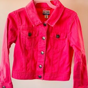 Pink TCP children's place jacket, barely worn